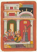 Vilaval Ragini: Folio from a ragamala series (Garland of Musical Modes)