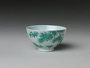 Wine Cup with Bamboo (one of a pair)