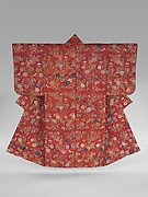 Noh Robe (Karaori) with Pattern of Autumn Grasses