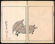 酒井抱一 画 『鶯邨画譜』<br/>The Ōson Picture Album (Ōson gafu)