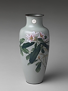 Imperial Presentation Vase with Lilies and Imperial Crest