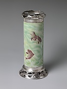 Vase with Carps in Waves