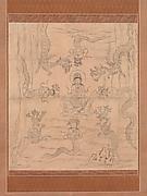 """Sketch of an """"Inviting Rain"""" Mandala"""