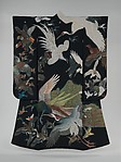 飛鳥柄着物<br/>Kimono with Birds in Flight