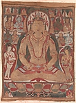 The Buddha Amityus Attended by Bodhisattvas