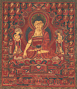 "Buddha Shakyamuni as ""Lord of the Munis"""