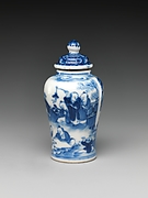 Snuff bottle with boys at play