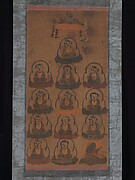 Ōtsu-e of Thirteen Buddhist Deities