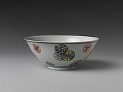 Bowl with decorative medallions