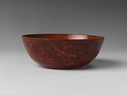 Bowl imitating realgar