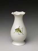 Vase with crickets