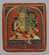 Initiation Card (Tsakalis): Manjushri