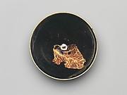 Tea Bowl with Leaf Decoration