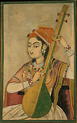A Lady Playing the Tanpura