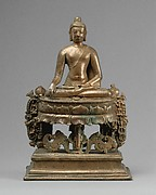 Lotus-Enthroned Buddha Akshobhya, the Transcendent Buddha