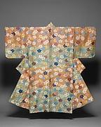 Noh Costume (Karaori) with Cherry Blossoms and Fretwork