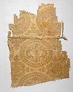 Textile with Pearl Roundels with Dragons