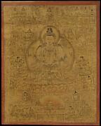 Sadaksari-Lokeshvara Surrounded by Manifestations and Monks