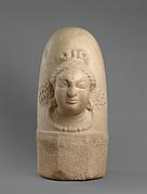 Linga with Face of Shiva (Ekamukhalinga)
