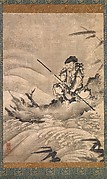 The Chinese Explorer Chōken on a Raft