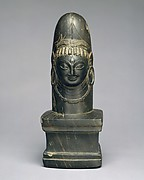 Linga with Face of Shiva (Ekamukhalinga)