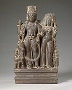 Shiva and Parvati with their Sons Karttikeya and Ganesha and the Calf Bull