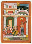 Vilaval Ragini: Page from a Dispersed Ragamala Series (Garland of Musical Modes)