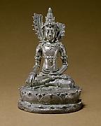 Seated Transcendent Buddha Akshobhya (?)