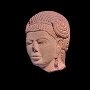 Head of Male Deity, possibly Aiyanar