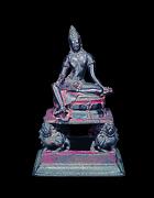 Enthroned Bodhisattva, probably Manjushri