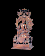 Enthroned Bodhisattva Manjushri as Sita Manjughosa