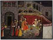 The Wedding of Krishna's Parents: Folio from a Bhagavata Purana Series