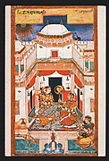 Vilaval Ragini: Folio from the Chunar Ragamala