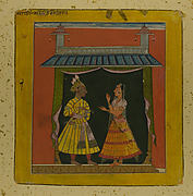 Sanehi Ragini: Folio from a Ragamala Series