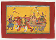 The Devi Parades in Triumph