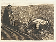 Plough-Puller and Wife, from the series Peasants' War