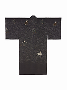 Mans Informal Robe with the Thirty-six Poetic Immortals