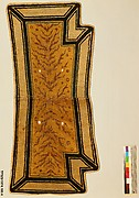Saddle Rug with Branch Designs
