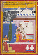 Malavi Ragini: Folio from a Ragamala Series