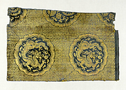 Textile with Dragons and Phoenixes