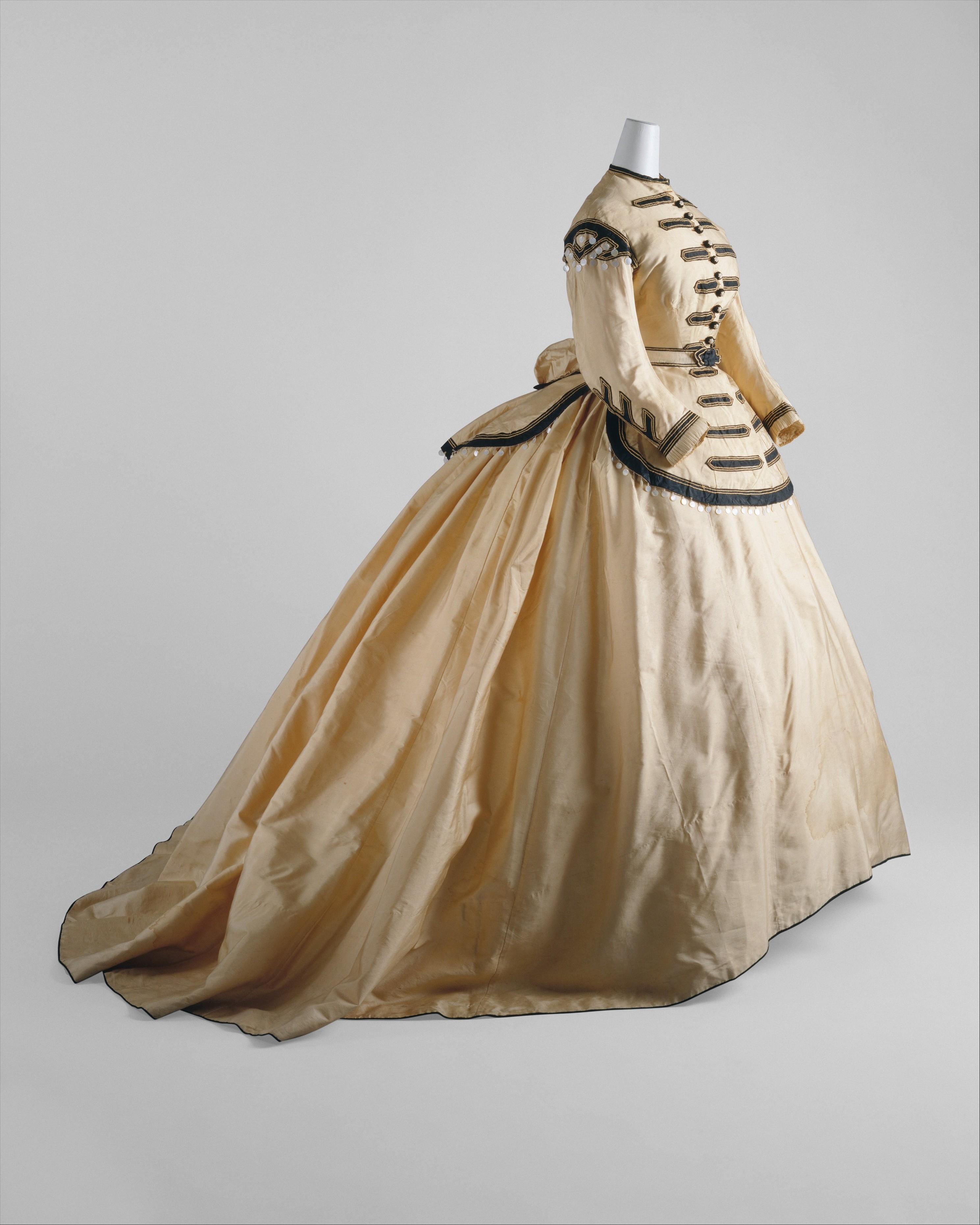 Fashion By Decade (1800s) Quiz