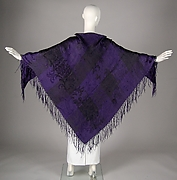 Mourning shawl