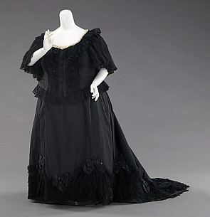 Mourning dress