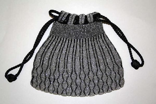 Evening drawstring bag