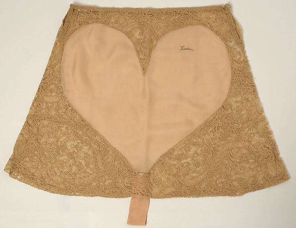 Vintage lace and embroidered tap pants from the 1920's