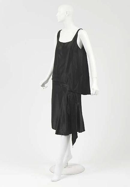 chanel flapper dress