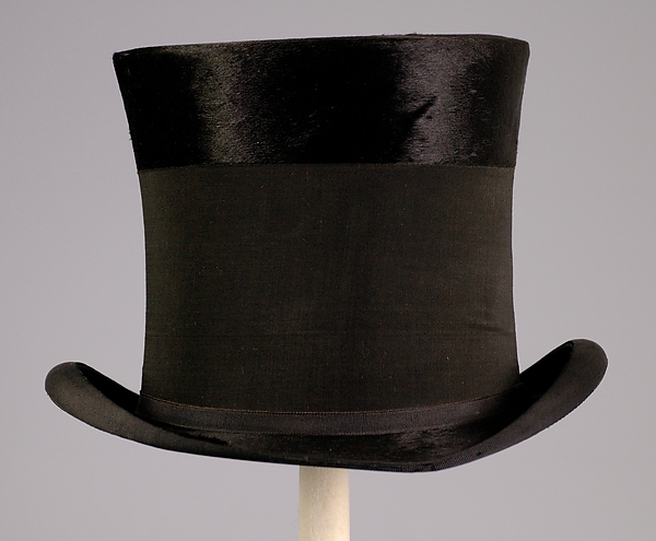 Mourning top hat