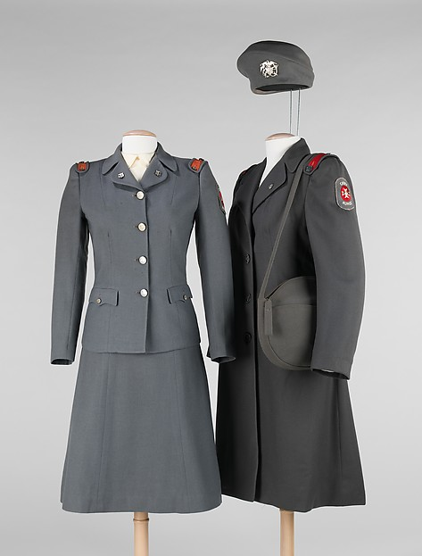The wool Cadet Nurse Uniform
