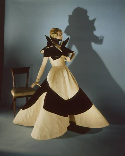 Charles James Clover Leaf Dress