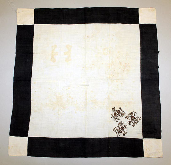 Mourning handkerchief